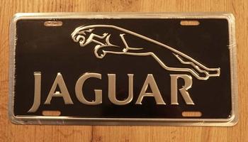 """Billboard / nummerrplaat """" Jaguar """""""