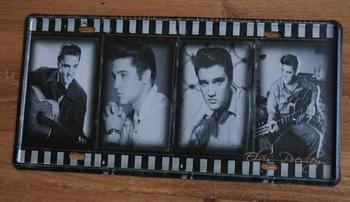 """Billboard / nummerrplaat  """" Dia fotos Elvis """""""