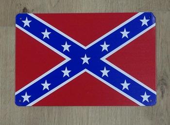 """Billboard """" Confederatie vlag """""""