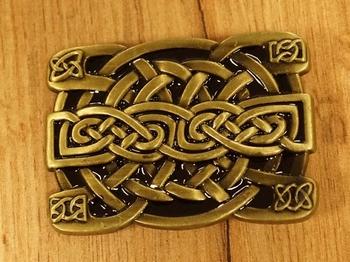 """Buckle / gesp  """" Keltisch symbool voor liefde & trouw """""""