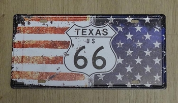"Billboard "" Texas US 66 ""  UITVERKOCHT"