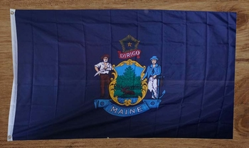 "Amerikaanse Staten vlag "" Maine """