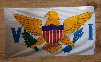 """Amerikaanse Staten vlag """" Virgin Island """""""