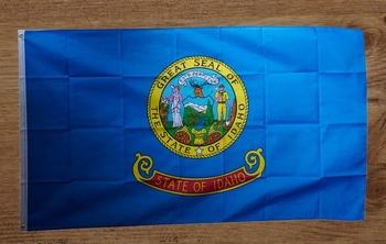 """Amerikaanse Staten vlag """" Idaho """""""