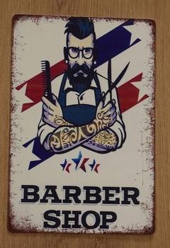 "Billboard  "" Barber shop """