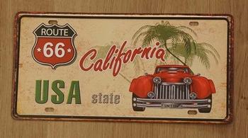 """Billboard """" Route 66 USA state California """""""