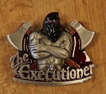 "Belt buckle   "" The executioner """