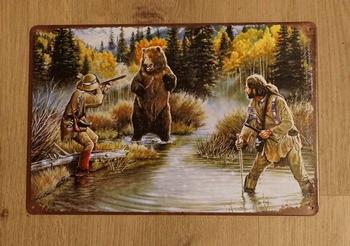 """Billboard  """" Hunters / jagers op jacht """""""