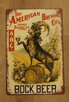 "Billboard  "" Bock Beer """