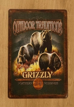 """Billboard  """" Outdoor traditions grizzly  """""""