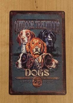 "Billboard  "" Outdoor traditions dogs ""  honden"