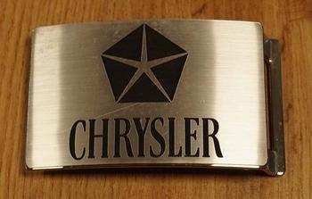 "Buckle "" Chrysler ""  zilverkleurig"