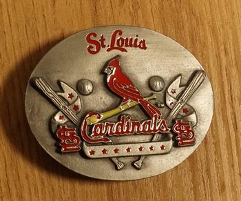 "American football buckle  "" St Louis cardinals """