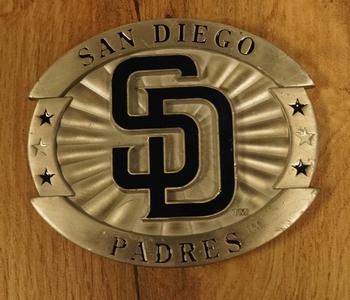 "American football buckle "" San Diego pardes """
