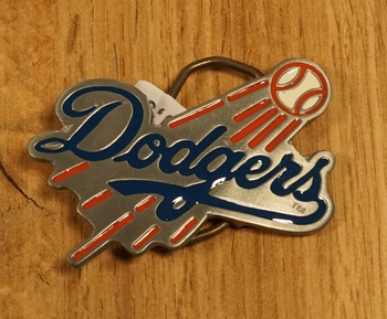 "American football buckle "" Dogers Los Angeles """