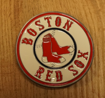 "American football buckle "" Boston red sox """