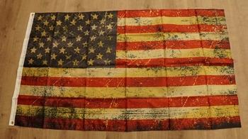 "Amerikaanse vlag  "" Grunge"