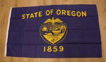"Amerikaanse Staten vlag "" Oregon """