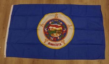 """Amerikaanse Staten vlag """" Minnesota """""""
