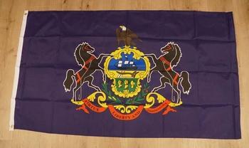 """Amerikaanse Staten vlag """" Pennsylvania """""""