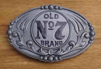 "Buckle  "" Old no 7 brand ""  Jack Daniels"