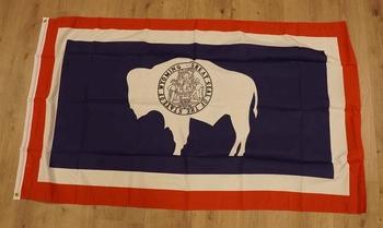 """Amerikaanse Staten vlag """" Wyoming """""""