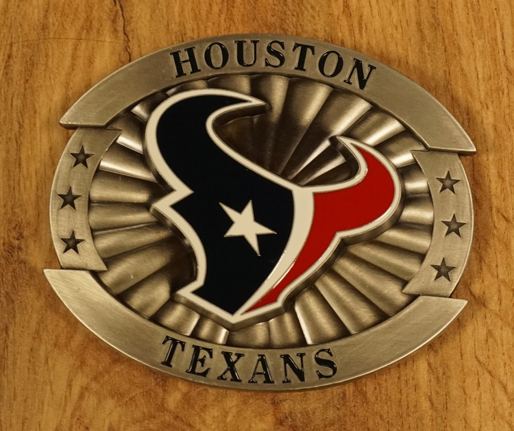 "American football buckle "" Houston Texans """