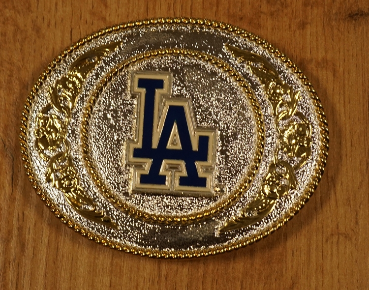 "American football buckle "" La Dogers "" zilver- / goud"