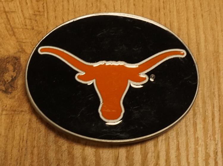 "American football buckle "" Longhorns university of Texas"