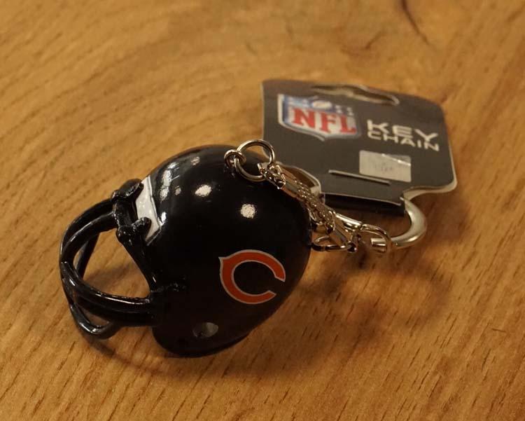 """American Football sleutelhanger """"  Chicago Bears """""""