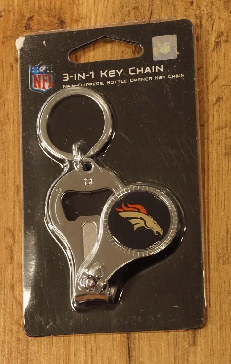 """American Football sleutelhanger """" Denver Broncos """""""