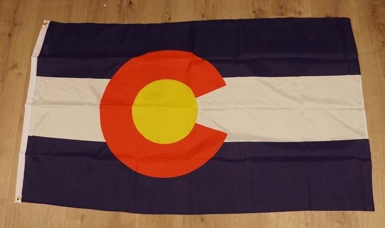 "Amerikaanse Staten vlag "" Colorado """