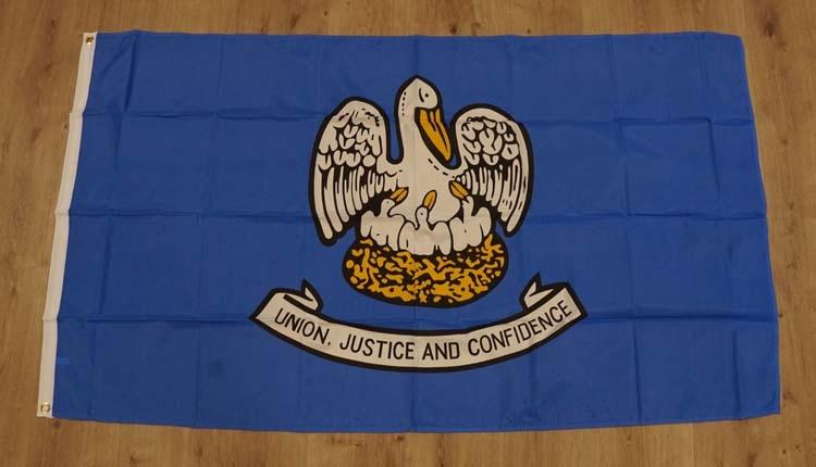 """Amerikaanse Staten vlag """" Louisiana """""""