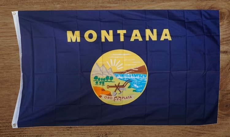 "Amerikaanse Staten vlag "" Montana """