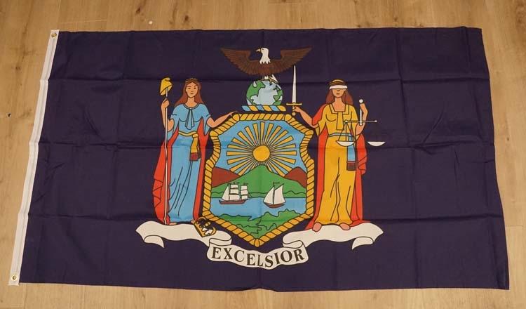 "Amerikaanse Staten vlag "" New York """