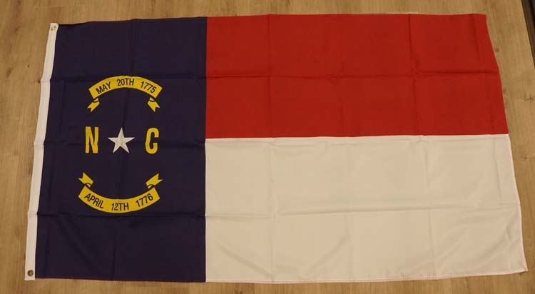 "Amerikaanse Staten vlag "" North Carolina """