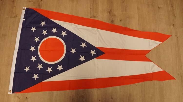 """Amerikaanse Staten vlag """" Ohio """""""