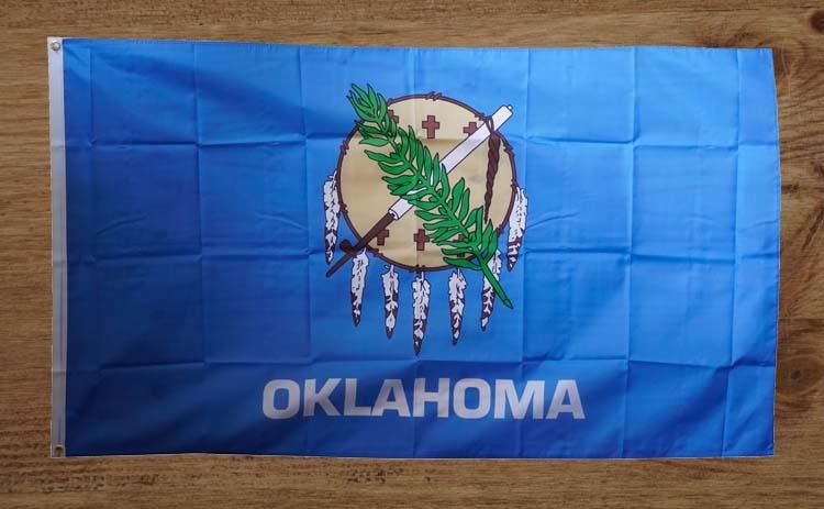 """Amerikaanse Staten vlag """" Oklahoma """""""