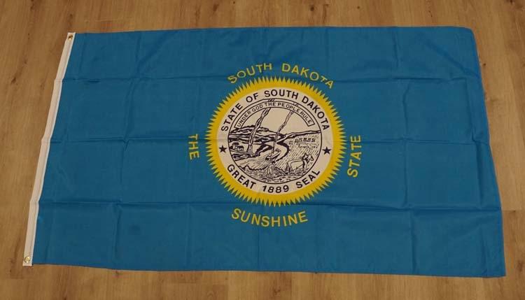 """Amerikaanse Staten vlag """" South Dakota """""""