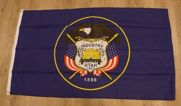 """Amerikaanse Staten vlag """" Utah """""""