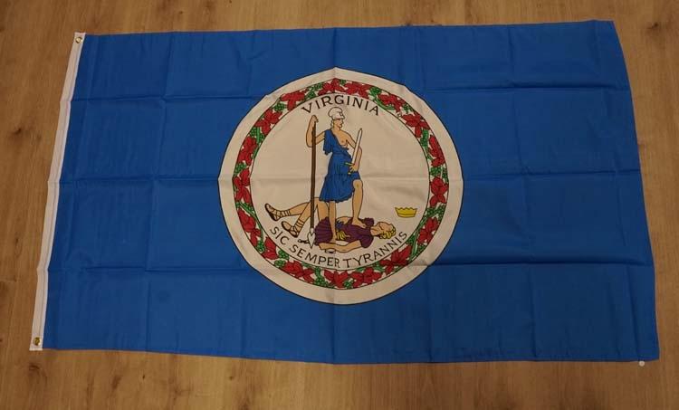 """Amerikaanse Staten vlag """" Virginia """""""