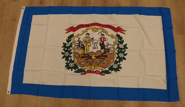 "Amerikaanse Staten vlag "" West Virginia """