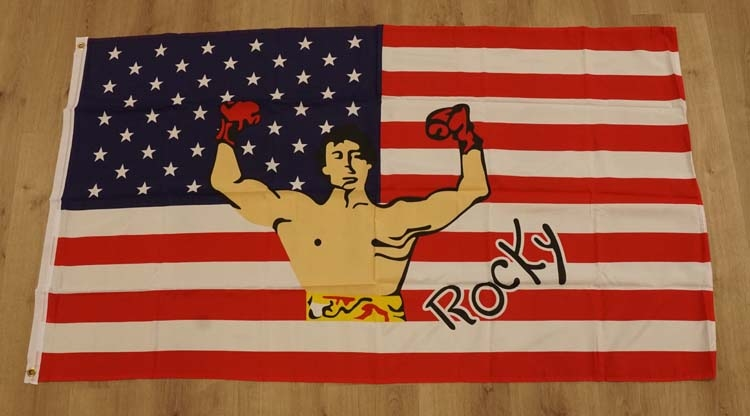 "Amerikaanse vlag "" Rocky """