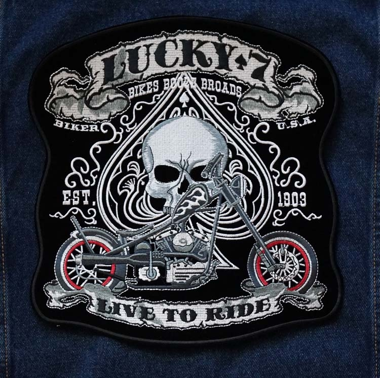 """Applicatie   """" Lucky 7, live to ride """""""