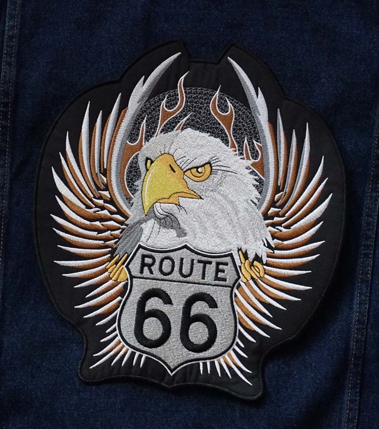 "Applicatie   "" Route 66  adelaarskop """