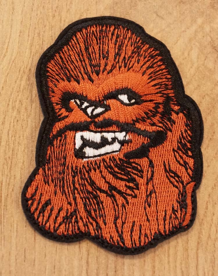 "Applicatie  "" Star wars Chewbacca """