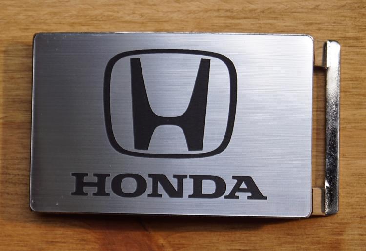 """Automerk buckle """"  Honda """"   Zilverkleurig"""