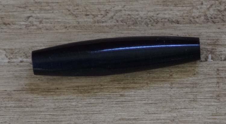 """Beentje  """" 5 cm """"  Zwart"""