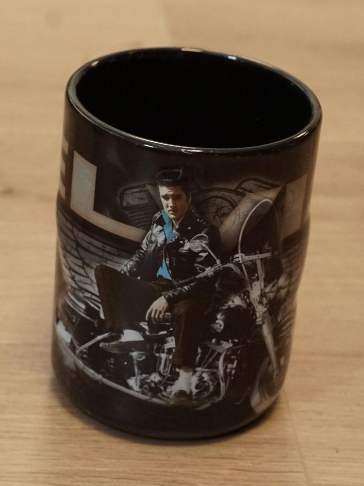 """Beker  """" Elvis Presley  """" motorcycle"""
