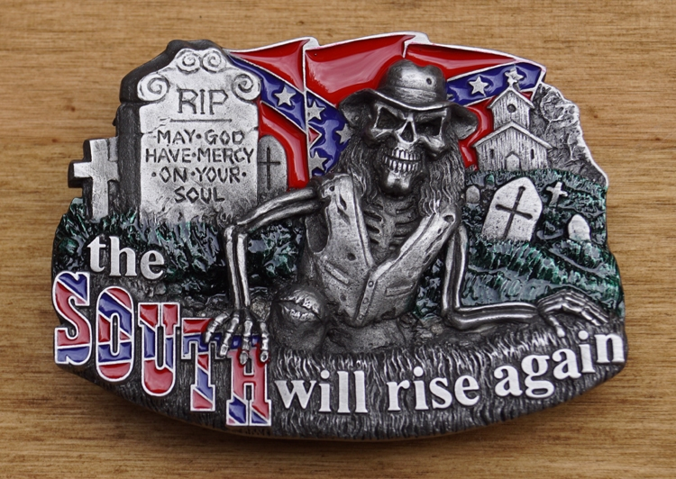 """Belt buckle   """" The south will rise """""""